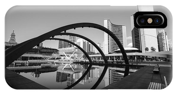 Nathan Phillips Square Phone Case by Eric Dewar