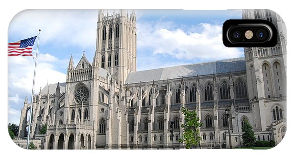 National Cathedral Phone Case by Rod Flasch