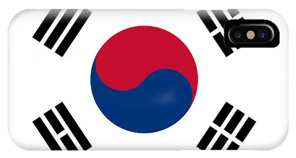 National Flag Of South Korea Authentic  IPhone Case