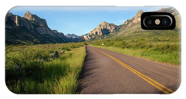 Coronado iPhone Case - National Forest Road by Larry Ditto
