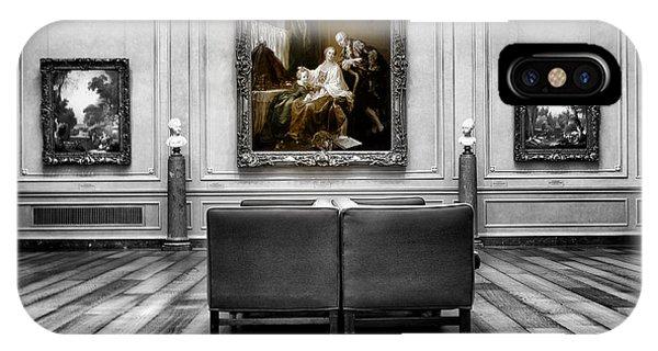 National Gallery Of Art Interiour 1 Phone Case by Frank Verreyken