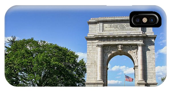 Revolutionary iPhone Case - National Memorial Arch At Valley Forge by Olivier Le Queinec