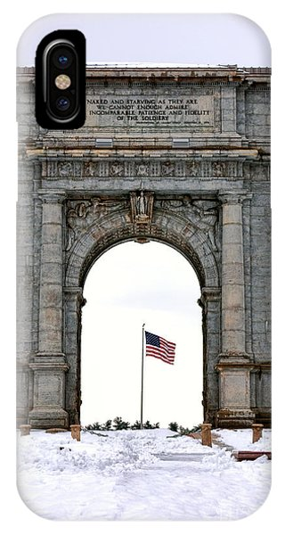 Revolutionary iPhone Case - National Memorial Arch by Olivier Le Queinec
