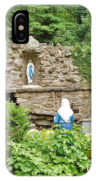National Shrine Grotto Of Our Lady Of Lourdes IPhone Case
