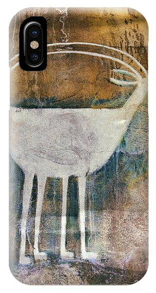 Native American Deer Pictograph IPhone Case