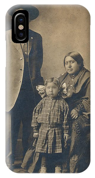 Native American Family IPhone Case