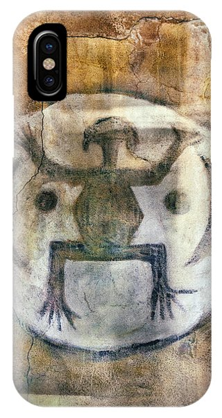 Native American Frog Pictograph IPhone Case
