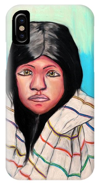 Native American Girl 1 IPhone Case