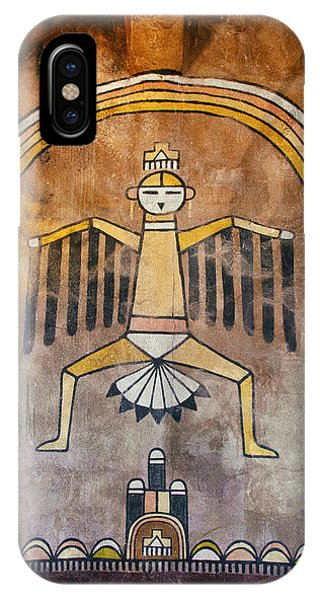 Native American Great Spirit Pictograph IPhone Case