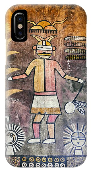 Native American Harvest Pictograph IPhone Case