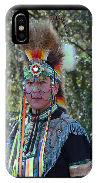 Native American Portrait IPhone Case
