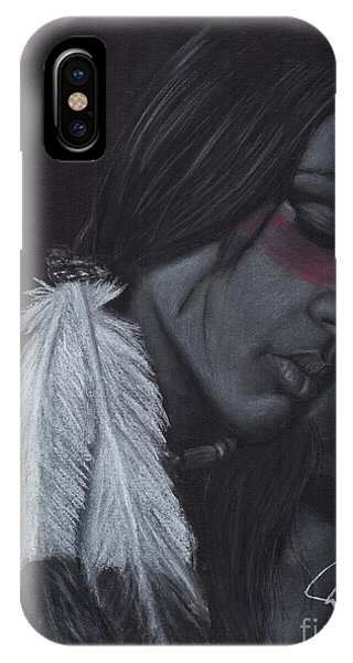 Native American Phone Case by Rosalinda Markle