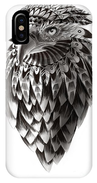 American Indian iPhone Case - Native American Shaman Eagle by Sassan Filsoof