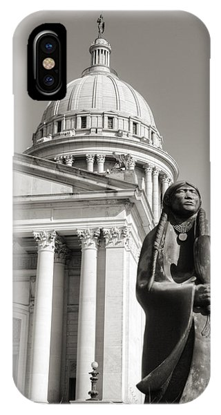 Capitol Building iPhone Case - Native Capitol by Ricky Barnard