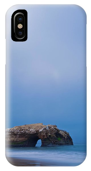 Natural Bridge And Its Reflection IPhone Case