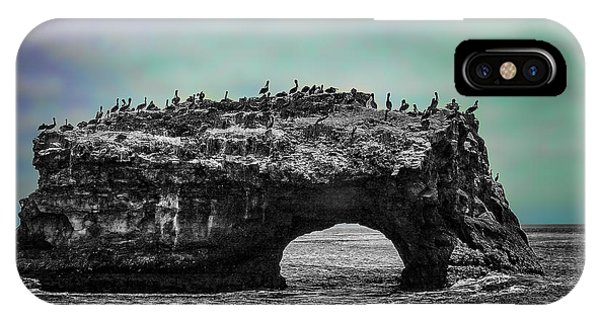 Natural Bridges State Beach IPhone Case