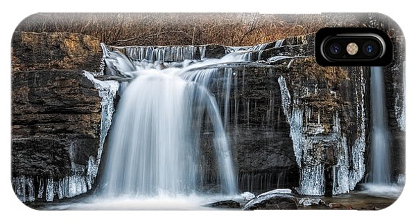 Natural Dam Winter IPhone Case