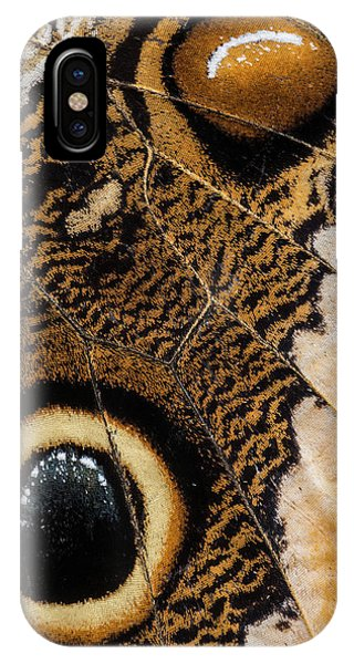 Wings iPhone Case - Natural Fabric by Ingridvekemans