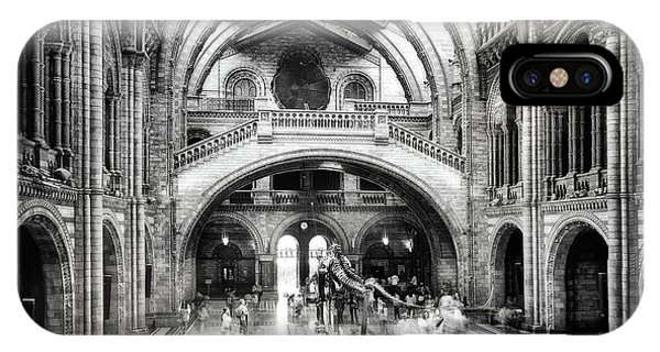 History iPhone Case - Natural History Museum Of London by Santiago Pascual Buye