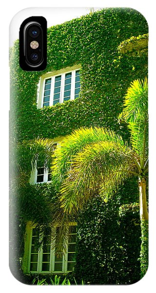 Natural Ivy House IPhone Case