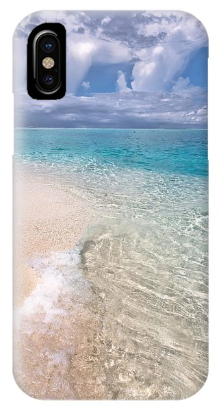 Natural Wonder. Maldives IPhone Case