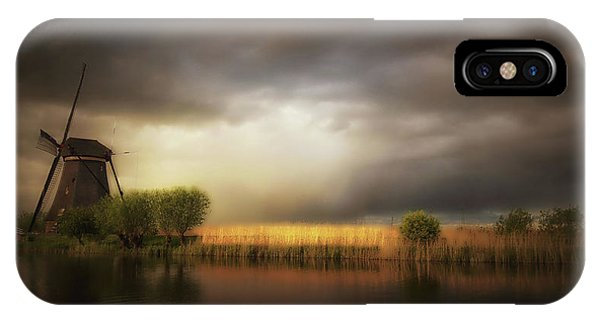 River iPhone Case - Nature As A Painter by Saskia Dingemans