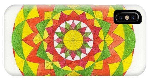 Nature Mandala Phone Case by Silvia Justo Fernandez