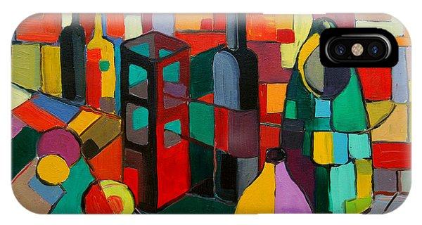 Rectangle iPhone Case - Nature Morte Cubiste by Mona Edulesco