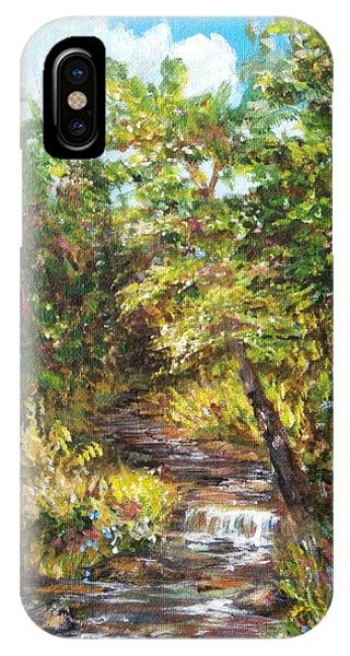 Nature River Painting IPhone Case
