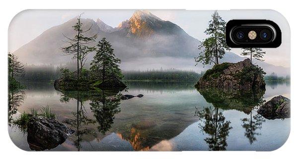 Fir Trees iPhone Case - Nature's Awakening by Daniel F.
