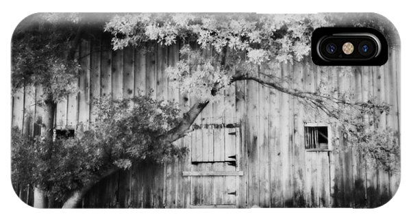 Natures Awning Bw IPhone Case
