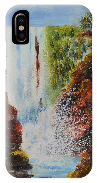 Nature's Fury IPhone Case
