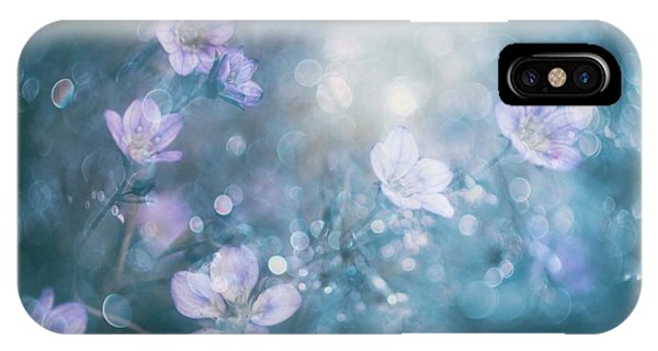 Macro iPhone Case - Nature's Jewelry by Delphine Devos