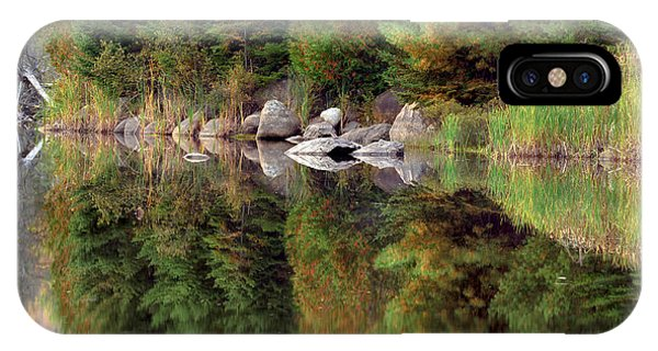 Natures Reflection IPhone Case