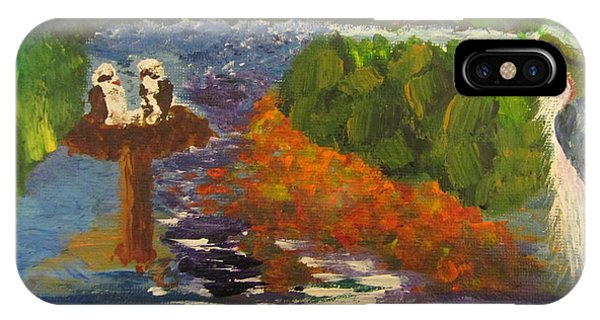 Nature's Water Lands Phone Case by Debbie Nester