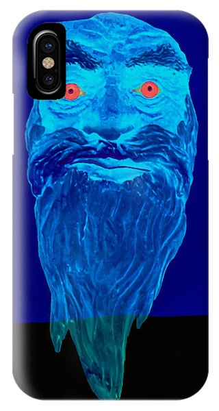 Naughty Blue Ghost IPhone Case