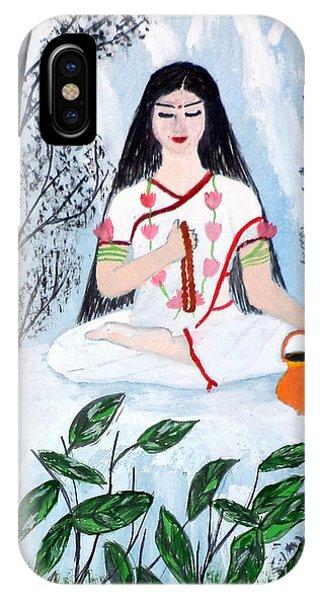 Nava Durga Brahmacharini IPhone Case