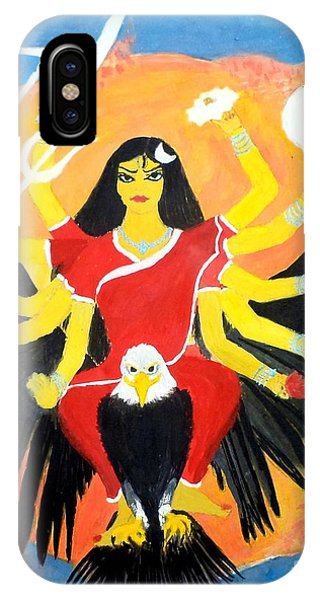 Nava Durga Chandraghanta IPhone Case