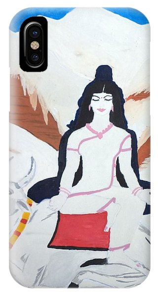 Nava Durga Mahagauri IPhone Case