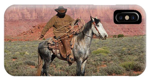 Navajo Cowboy IPhone Case