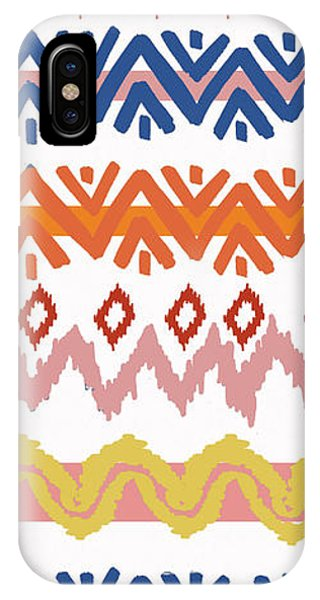Southwest iPhone Case - Southwest Pattern IIi by Nicholas Biscardi
