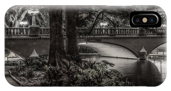 Navarro Street Bridge At Night IPhone Case