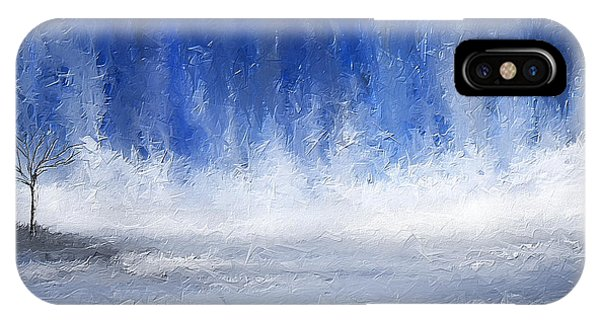 Cobalt Blue iPhone Case - Navy Blue Art by Lourry Legarde