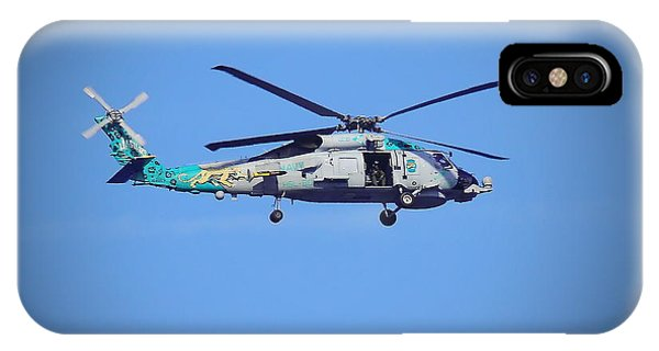 Navy Jaguar Helicopter IPhone Case