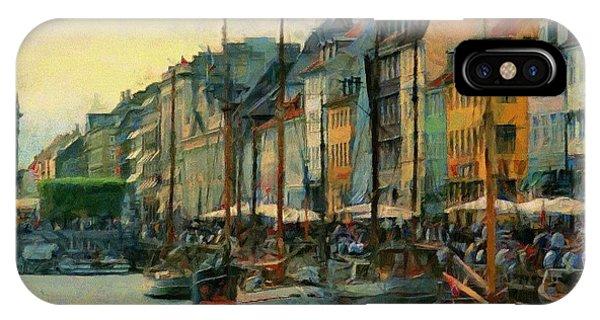 Nayhavn Street IPhone Case