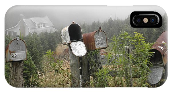 Nc Mailboxes IPhone Case