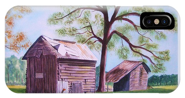 Nc Tobacco Barns IPhone Case