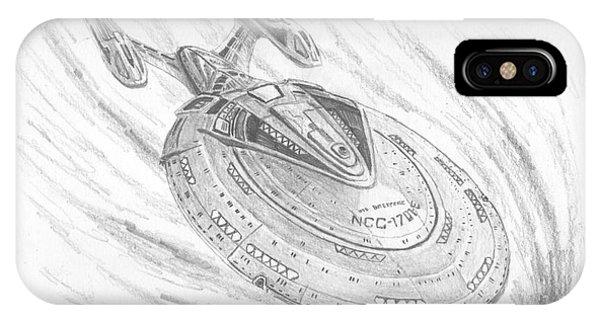 Ncc-1701-e Enterprise Phone Case by Michael Penny