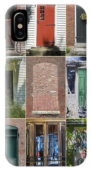 IPhone Case featuring the photograph N.e. Doorways by David Phoenix