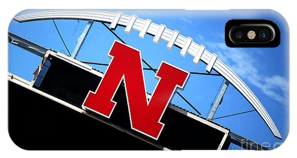 Nebraska Husker Memorial Stadium IPhone Case